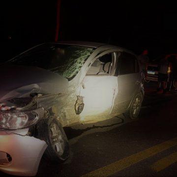 Motoristas são notificados pela PRF por se recusarem a fazer teste de bafômetros após acidente de trânsito