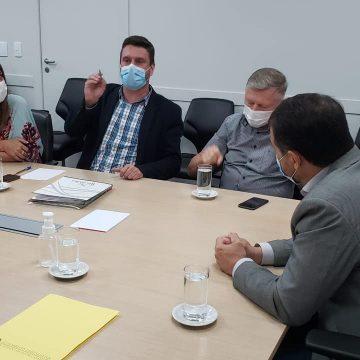 Em encontro com governador, José Thomé solicita apoio financeiro para Rio do Sul