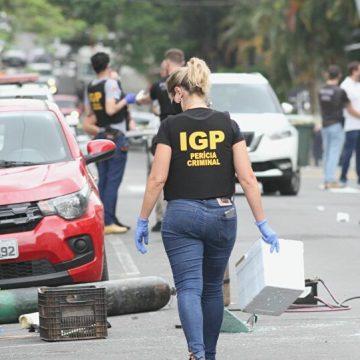 Localizados dez veículos com vestígios da participação de criminosos em assalto a banco em SC