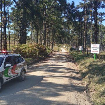 Represa Perimbó é fechada por tempo indeterminado