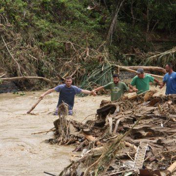 Amavi acompanha municípios que registraram danos pelo volume de chuva