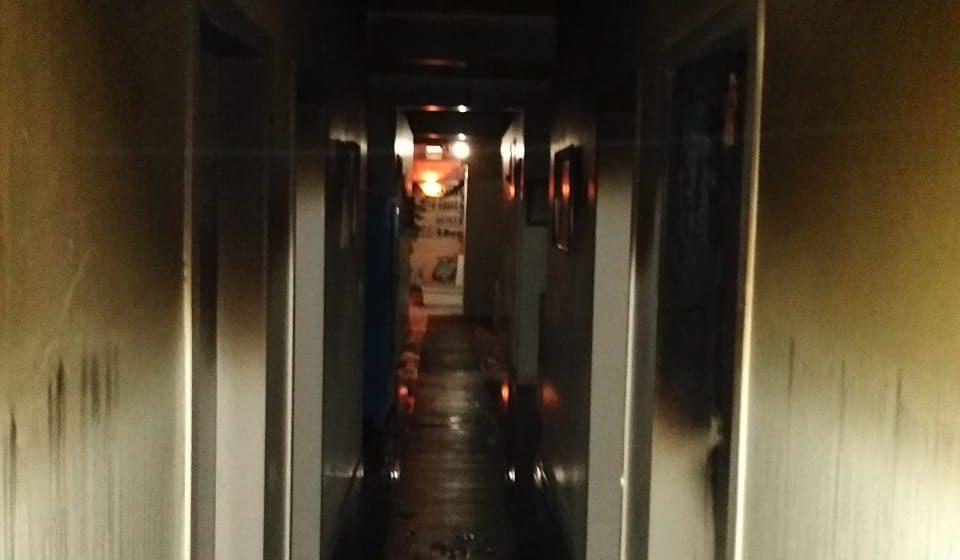 Incêndio provoca estragos em abrigo para menores, em Vidal Ramos