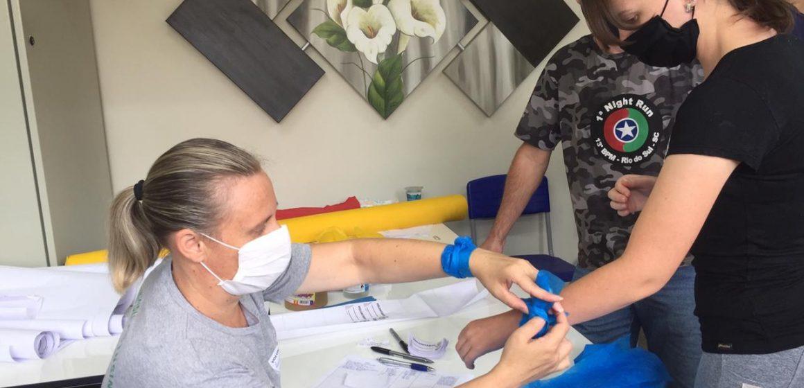 Presidente Getúlio ainda precisa de voluntários para separação de donativos para atingidos por enxurrada
