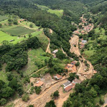 Arcanjo realiza sobrevoo em região afetada pelas chuvas em Presidente Getúlio