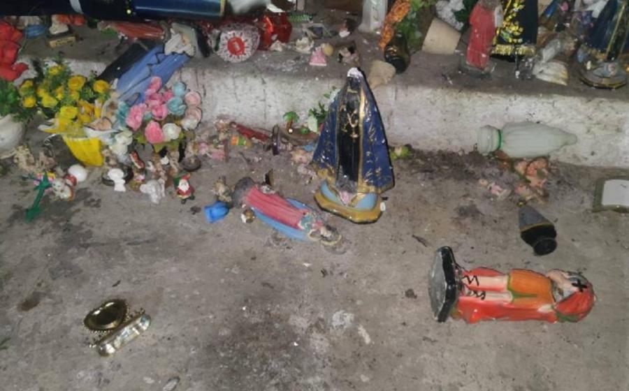 Gruta da Pimenta, em Presidente Getúlio, é alvo de vandalismo