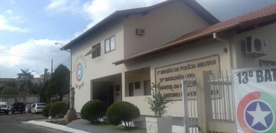 13º Batalhão de Polícia Militar de Rio do Sul tem troca de comando nesta semana