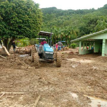 Defesa Civil contabiliza 380 casas afetadas e 1.600 pessoas atingidas no Alto Vale