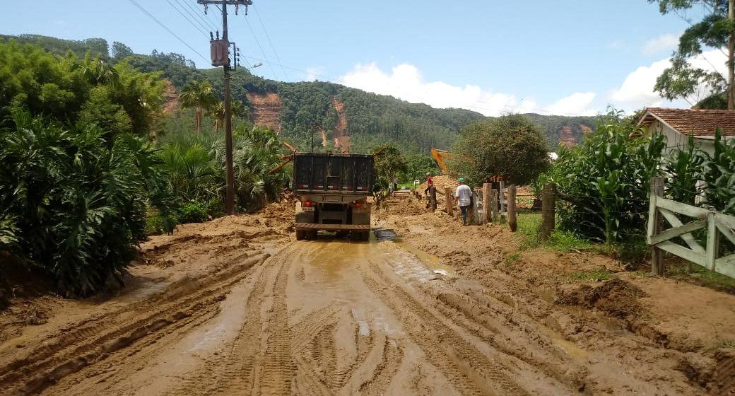 Em Rio do Sul reconstrução continua na Valada São Paulo