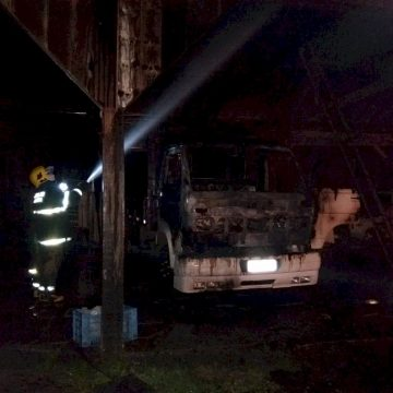Suspeito de roubo, e atear fogo a caminhão, em Salete, é preso