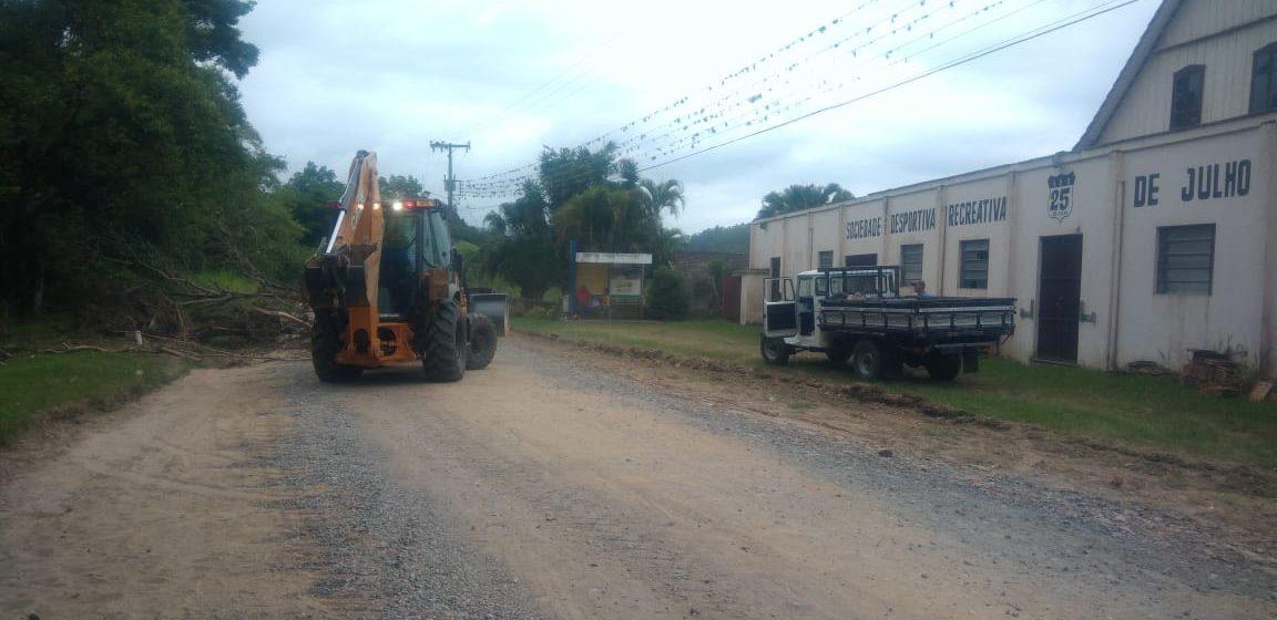Inicia  asfaltamento do segundo trecho da Rua Gustav Hasse, no bairro Bela Aliança, em Rio do Sul