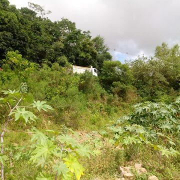 Construção de muro de contenção na Rua Ruy Barbosa, em Rio do Sul, deve ser retomada em 30 dias