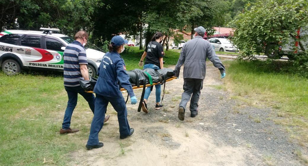 Com investigações concluídas, corpo encontrado em rio, em Aurora, ainda não foi identificado