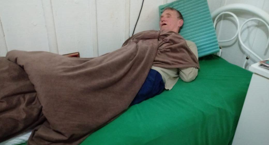 Família encontra idoso que estava desaparecido