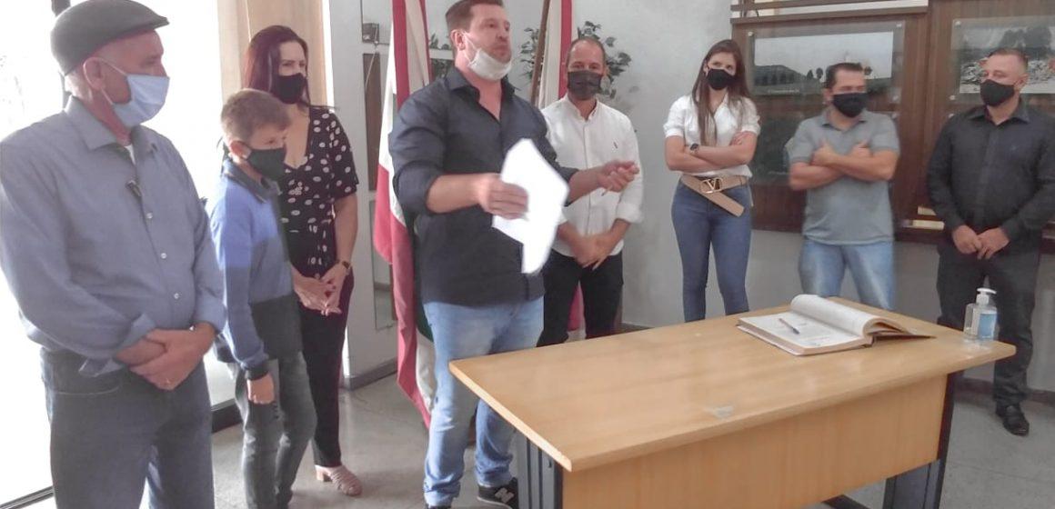 Geison Kurtz assume a administração de Ituporanga