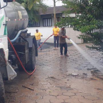 Ituporanga registra prejuízos em decorrência da enxurrada de ontem
