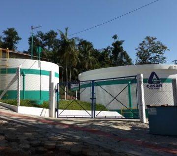 Com obras no sistema, Casan pede economia de água a partir de segunda-feira