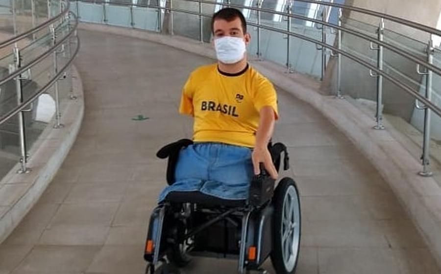 Bruno Becker  intensifica treinos de preparação para os Jogos Paralímpicos