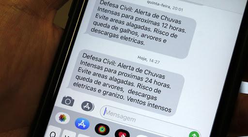 Defesa Civil de Rio do Sul alerta para chuvas nas próximas horas
