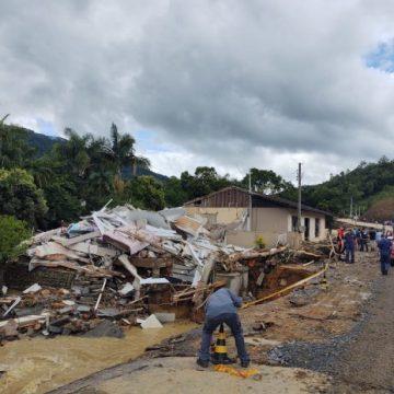 Perdas na agricultura provocadas por enxurrada em Presidente Getúlio, Ibirama e Rio do Sul estão estimadas em R$ 17 milhões