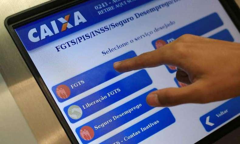 Caixa autoriza liberação do FGTS para atingidos pela enxurrada de dezembro