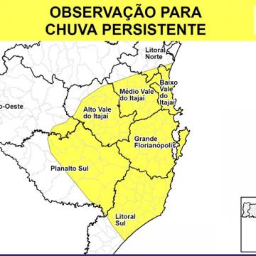 Com chuvas intensas, Defesa Civil monitora situação dos rios na região