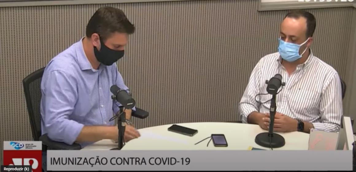 Prefeito de Rio do Sul fala sobre critérios de imunização da população, contra a Covid-19