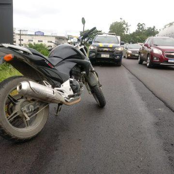 Motociclista morre em colisão, seguida de atropelamento, na BR-470 em Rio do Sul