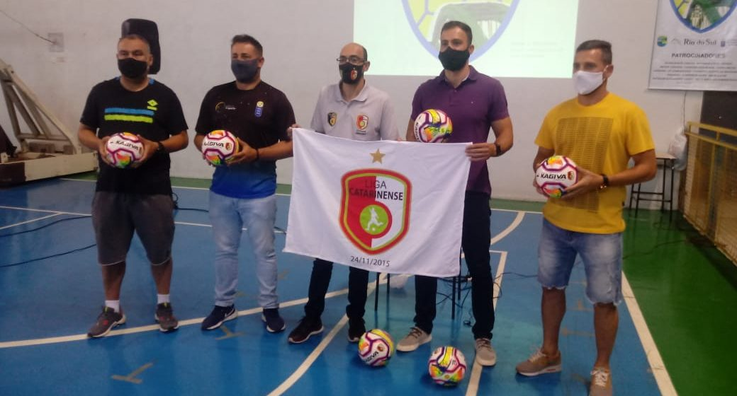 Rio do Sul volta a ter equipe de futsal adulto para disputar série ouro