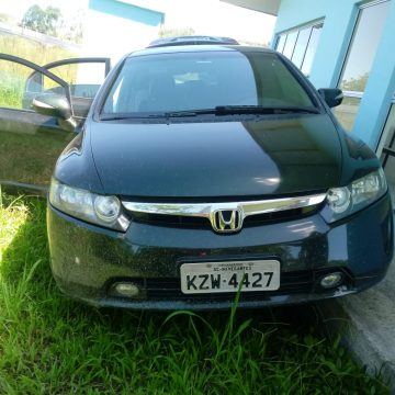 Encontrado em Rio do Sul veículo utilizado no assalto em Aurora