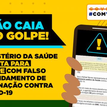 Mensagem sobre datas de vacinação em Rio do Sul é Fake News