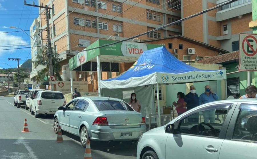 Encerrada vacinação contra a Covid-19 neste sábado, em Rio do Sul