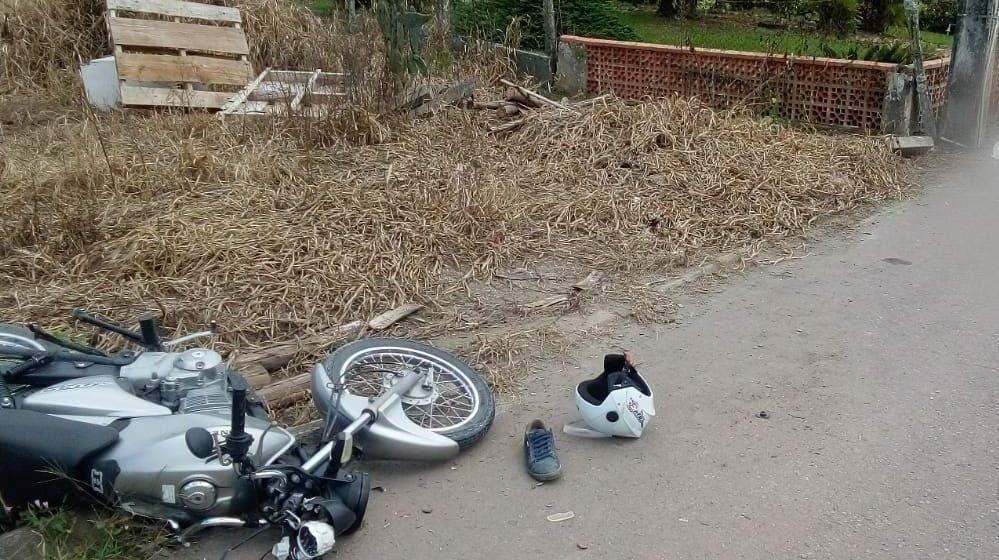 Motociclista morre após colidir em poste, em Agrolândia
