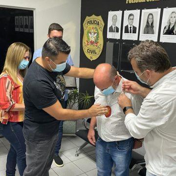 Assembleia Legislativa e Polícia Civil prestam homenagens ao delegado Almiro da Costa