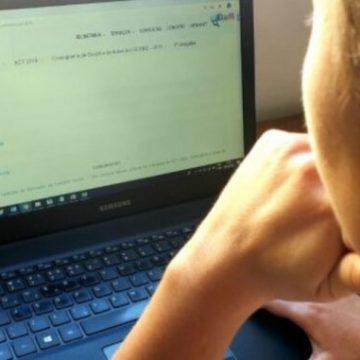 Com número reduzido, professores da rede estadual de ensino decidem transferir atividades  para sistema remoto