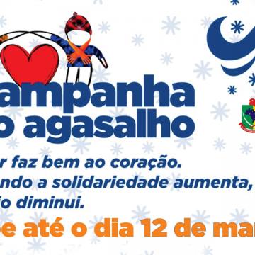 Secretaria de Assistência Social de Salete realiza, até 12 março, a campanha do agasalho 2021