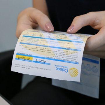 Está disponível na Celesc a opção de pagamento parcelado das faturas de energia elétrica em atraso