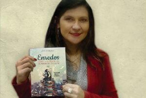 Escritora lançará três obras literárias na biblioteca da Fundação Cultural de Rio do Sul