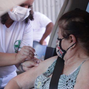 Cerca de 400 idosos ainda não receberam a primeira dose da vacina contra Covid-19, em Rio do Sul