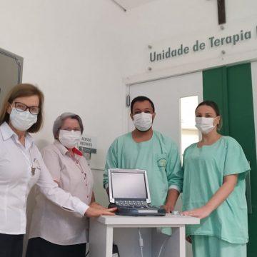 UTI do HBJ recebe, por doação, aparelho de ultrassonografia portátil