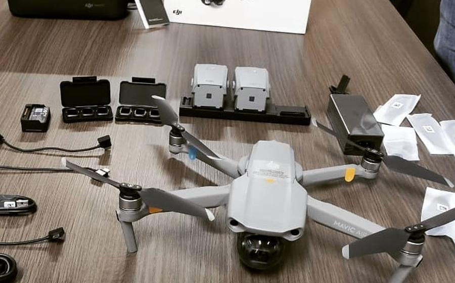 Drone doado ao 13º Batalhão de Polícia Militar será usado em operações