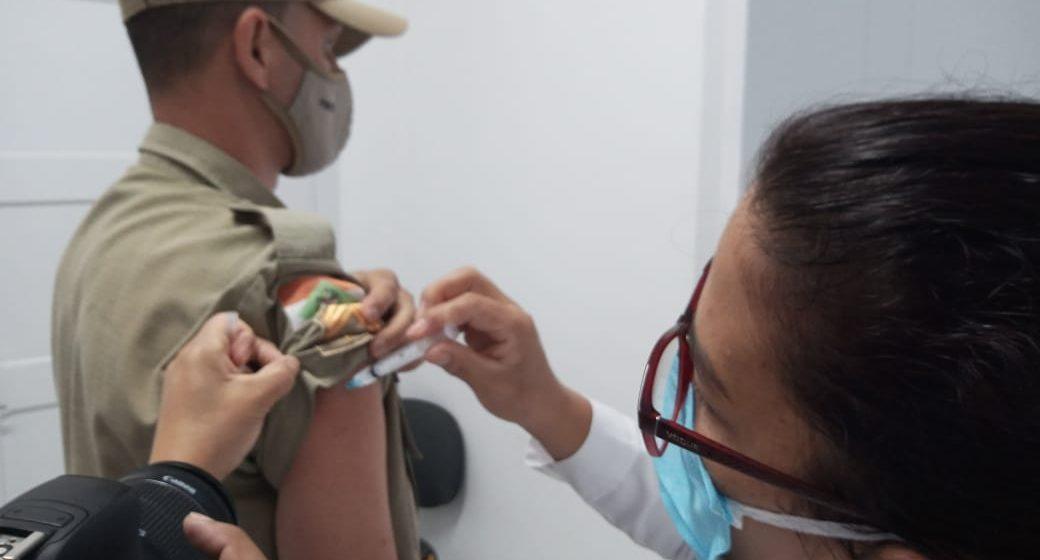 PMs que não quiserem ser imunizados contra a Covid-19  já indicaram a negativa ao setor responsável