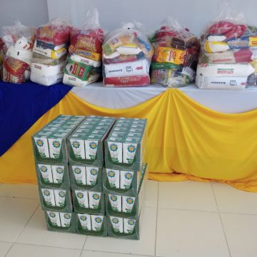 Doações durante vacinação contra a Covid-19 beneficiam entidades assistenciais