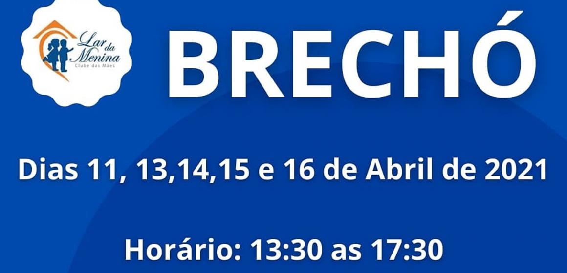 Segue até o dia 16 de abril, o Brechó do Lar da Menina, em Rio do Sul