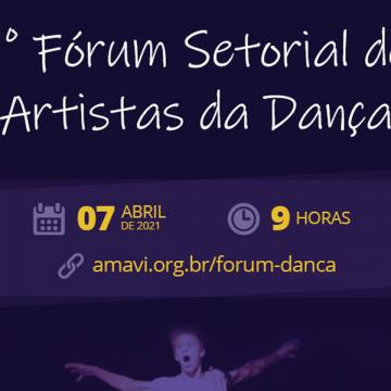 Colegiado de Cultura da Amavi promoverá o 1° Fórum Setorial de Artistas da Dança