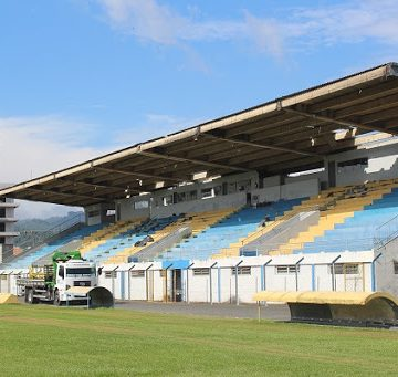 Estádio de Rio do Sul passa por adaptações para receber competições regionais e estaduais