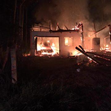 Incêndio atinge residência em Presidente Getúlio