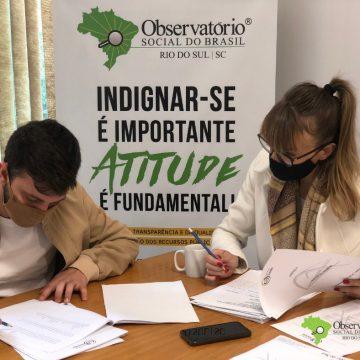 OS de Rio do Sul inicia fiscalização dos valores repassados para enfrentamento da pandemia