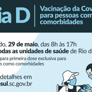 Secretaria de saúde de Rio do Sul espera vacinar,  neste sábado, 600 pessoas com comorbidades