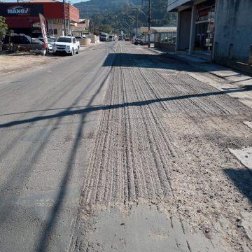 Rua Dom Pedro II deve ser pavimentada até o fim da próxima semana