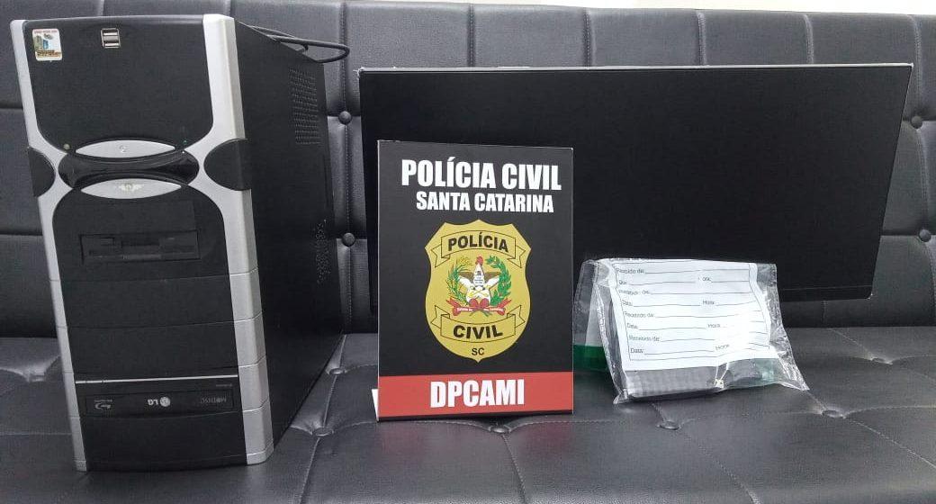 Homem é preso por armazenar e compartilhar pornografia infantil, em Rio do Sul